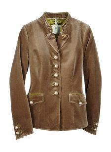 trento velvet jacket