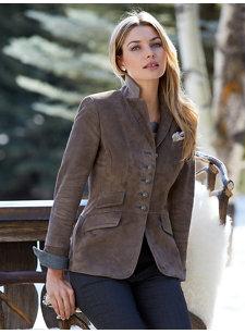 hillary truffle jacket