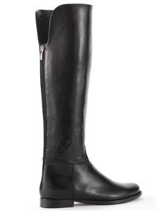 petra black nappa boot