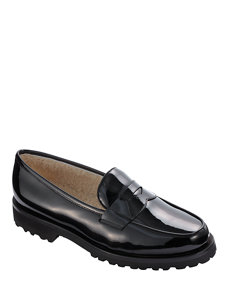 gstaad black loafer