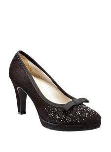 crystal bow heel