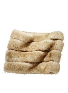 mink neck warmer