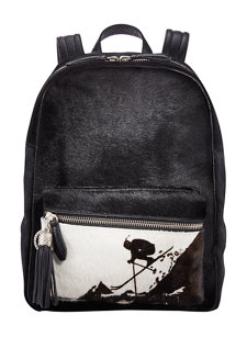 alpine fur backpack