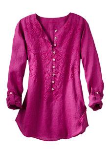 lina paisley shirt