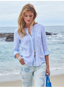 michel embroidered shirt