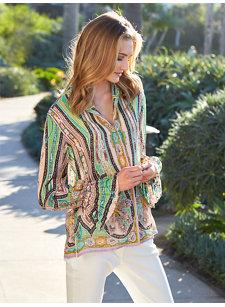 gabriela paisley shirt