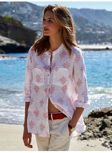 laila linen shirt