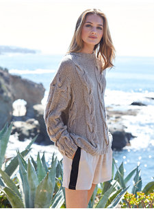 montauk cable sweater