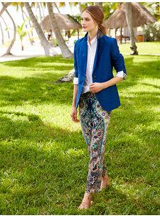 paisley blue pant