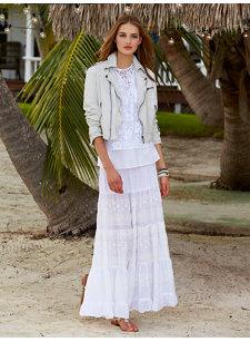 catlin skirt white