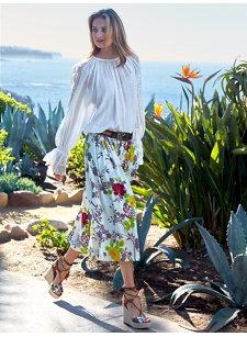 eris floral skirt