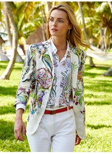 evita flora jacket