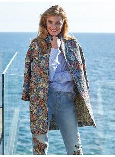 sasha brocade coat