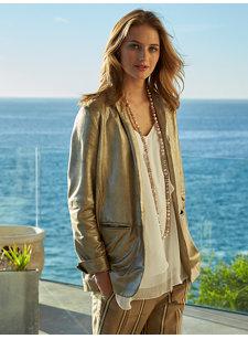 lilita metallic jacket