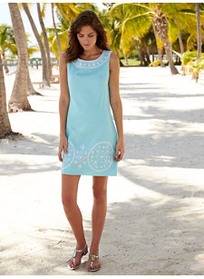 bina turquoise dress