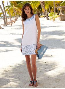 bina white dress