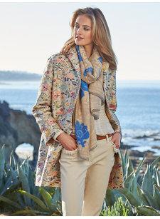 cori brocade coat