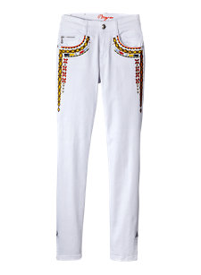 lucia embroidered jean