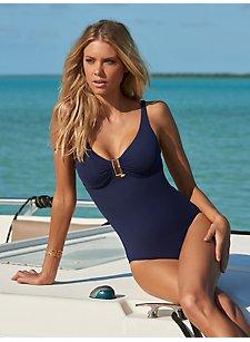 Kết quả hình ảnh cho navy one piece swimsuit