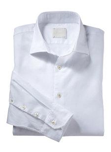 davide white basket shirt
