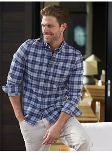 look 2 plaid shirt