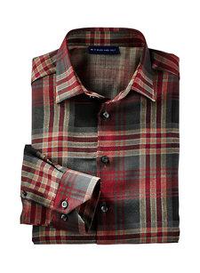 wylie wine plaid shirt