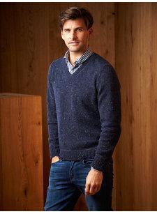 james v-neck sweater