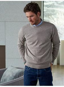 look 6 cash crew sweater
