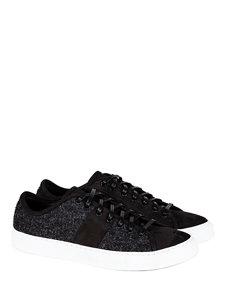 tweed sneaker dark grey