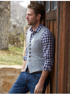 liam quilted vest