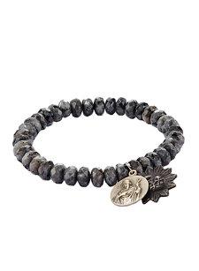 black labradorite icons bracelet