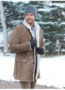 redford shearling coat