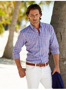 arran plaid shirt