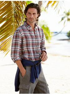 bayard plaid shirt