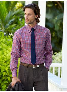etrusco plaid shirt