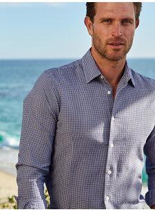 liam gingham shirt