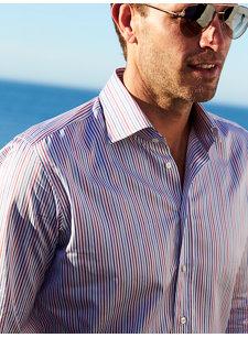 nu ippolito stripe shirt