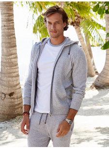 look 3 cashmere zip hoodie