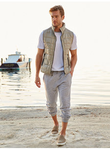 look 3 cashmere sweatpant