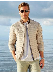 garth matte jacket