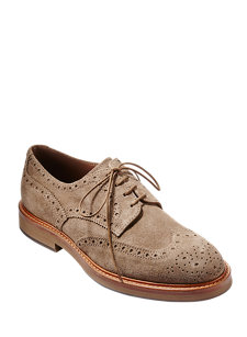 derby suede shoe