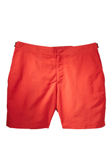 bulldog orange swim trunks
