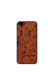 damasked black iphone case