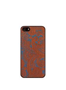 damasked blue iphone case