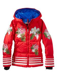 girls birga-d red jacket