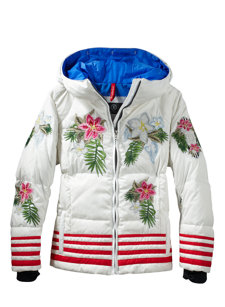 girls birga-d white jacket