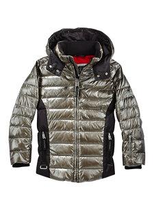 boys larson-d silver jacket