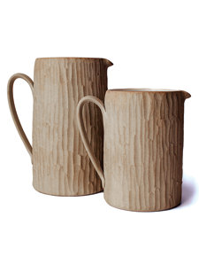 hand hewn pitcher