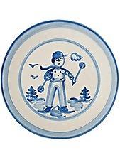 11 inch dinner plate waving