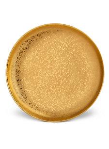 gold alchemie dinner plate